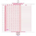 妊娠0週から出産予定日までを表組みで表示するマタニティカレンダーです。トツキトウカ全体を見渡せて便利です。